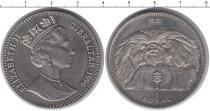 Каталог монет - монета  Гибралтар 1 рояль