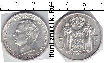 Каталог монет - монета  Монако 5 франков