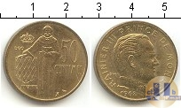Каталог монет - монета  Монако 50 сентим