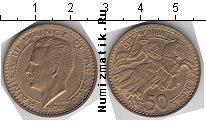 Каталог монет - монета  Монако 50 франков