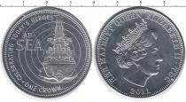 Продать Монеты Тристан-да-Кунья 1 крона 2011 Медно-никель