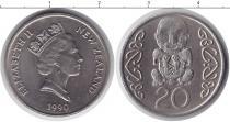 Каталог монет - монета  Новая Зеландия 20 центов