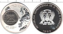 Каталог монет - монета  Сан-Томе и Принсипи 2000 добрас