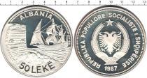 Каталог монет - монета  Албания 50 лек