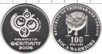 Каталог монет - монета  Тринидад и Тобаго 100 долларов