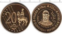 Каталог монет - монета  Словения 20 евроцентов
