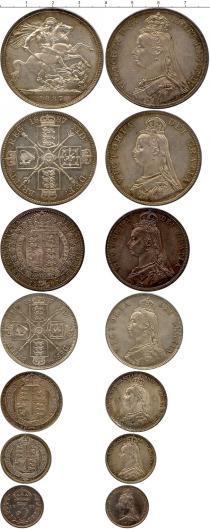 Каталог - подарочный набор  Великобритания Великобритания 1887