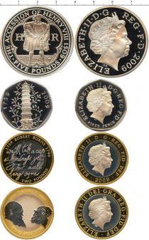 Каталог - подарочный набор  Великобритания Выпуск монет 2009