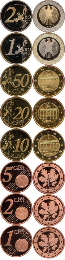 Каталог - подарочный набор  Германия Выпуск 2004 года, Чеканка Берлина
