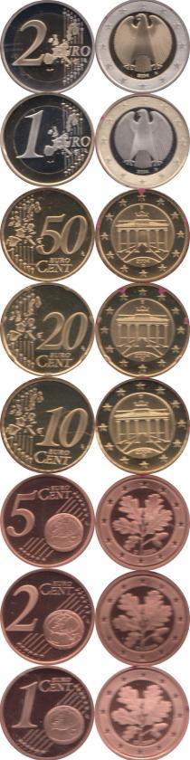 Каталог - подарочный набор  Германия Выпуск 2004 года, Чеканка Мюнхена