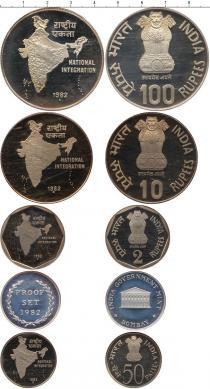 Каталог - подарочный набор  Индия Выпуск 1982 года