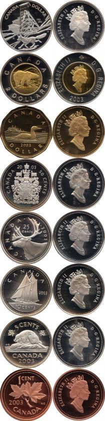 Каталог - подарочный набор  Канада Выпуск 2003 года