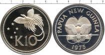 Каталог - подарочный набор  Папуа-Новая Гвинея 10 кин