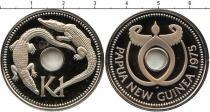 Каталог - подарочный набор  Папуа-Новая Гвинея 1 кина 1975 года