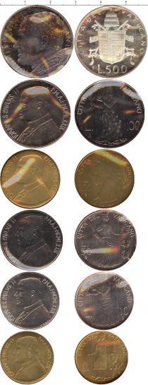 Каталог - подарочный набор  Ватикан Набор монет 1979 года выпуска