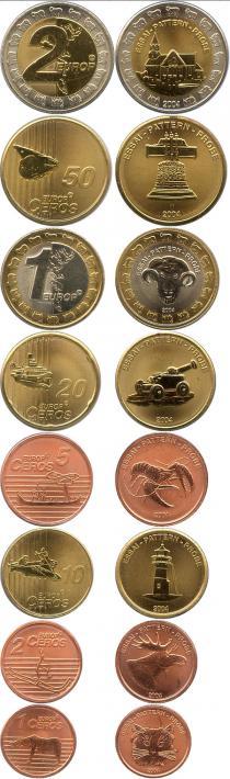 Каталог - подарочный набор  Фарерские острова Выпуск 2004