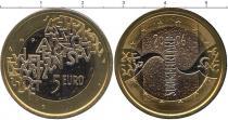 Каталог - подарочный набор  Финляндия 5 евро