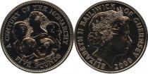 Каталог - подарочный набор  Гернси 100-летие Британской монархии