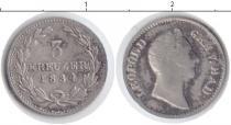Каталог монет - монета  Баден 3 крейцера