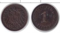 Каталог монет - монета  Веймарская республика 1 пфенниг