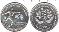 Каталог монет - монета  Гвинея-Бисау 1000 франков