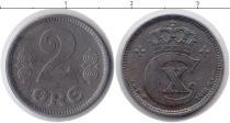 Каталог монет - монета  Дания 2 эре