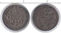 Каталог монет - монета  Липпе-Детмольд 4 пфеннига