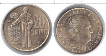Каталог монет - монета  Монако 20 сантим