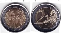 Каталог монет - монета  Испания 2 евро