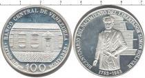 Каталог монет - монета  Венесуэла 100 боливар