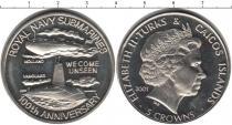 Каталог монет - монета  Теркc и Кайкос 5 крон