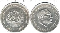 Каталог монет - монета  Сьерра-Леоне 1 леоне