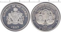 Каталог монет - монета  Гамбия 2 даласи