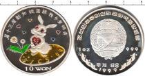 Каталог монет - монета  Северная Корея 10 вон
