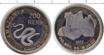 Каталог монет - монета  Амазония 200 рейс