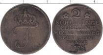 Каталог монет - монета  Мекленбург-Шверин 2 шиллинга