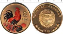 Каталог монет - монета  Северная Корея 1 вон