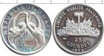 Каталог монет - монета  Гаити 25 гурдес