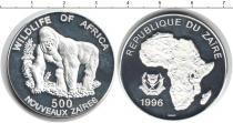Каталог монет - монета  Заир 500 заир