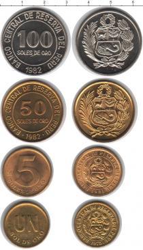 Каталог - подарочный набор  Перу Перу 1975-1982