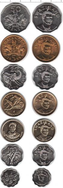 Каталог - подарочный набор  Свазиленд Свазиленд 1999-2010