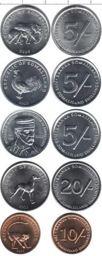 Каталог - подарочный набор  Сомали Сомали 2002-2005