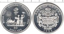 Каталог монет - монета  Гайана 50 долларов