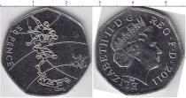 Каталог монет - монета  Великобритания 50 пенсов
