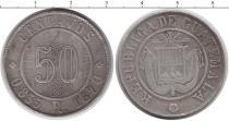 Каталог монет - монета  Гватемала 50 сентаво