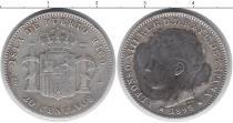 Каталог монет - монета  Пуэрто-Рико 20 сентаво