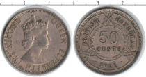 Каталог монет - монета  Гондурас 50 центов