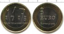 Каталог монет - монета  Словения 3 евро