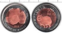 Каталог монет - монета  Амазония 300 рейс