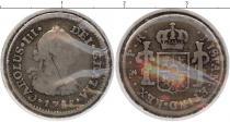 Каталог монет - монета  Боливия 1/2 реала